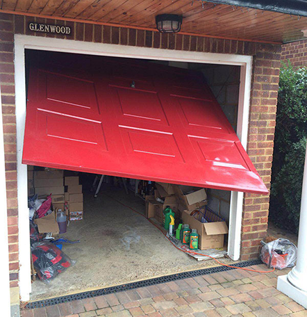 Garage Door Repairs Nasty