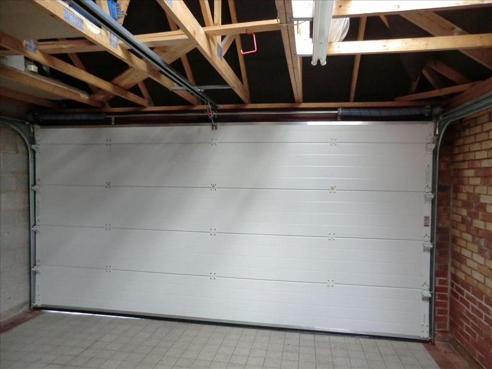 Garage Door Installation Butts Close