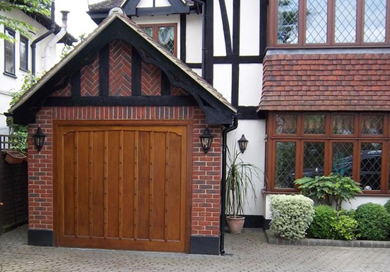 Wooden Garage Doors Pinner